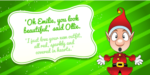 Ollie the Elf Image 01