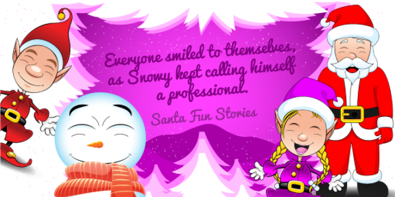 Ollie Snowy Emilie Santa Image 02