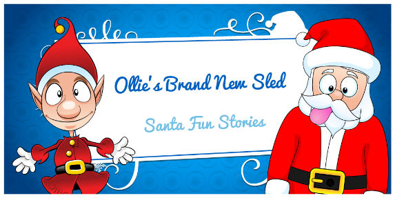 Ollie and Santa Title Image