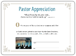 Preach2engage october assets 2014 for Pastor appreciation certificate template free